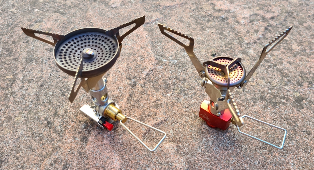 Soto Windmaster and MSR Pocket Rocket 2