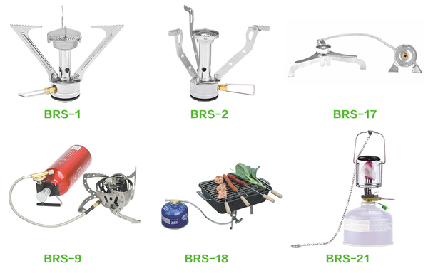 Some of the first BRS products produced