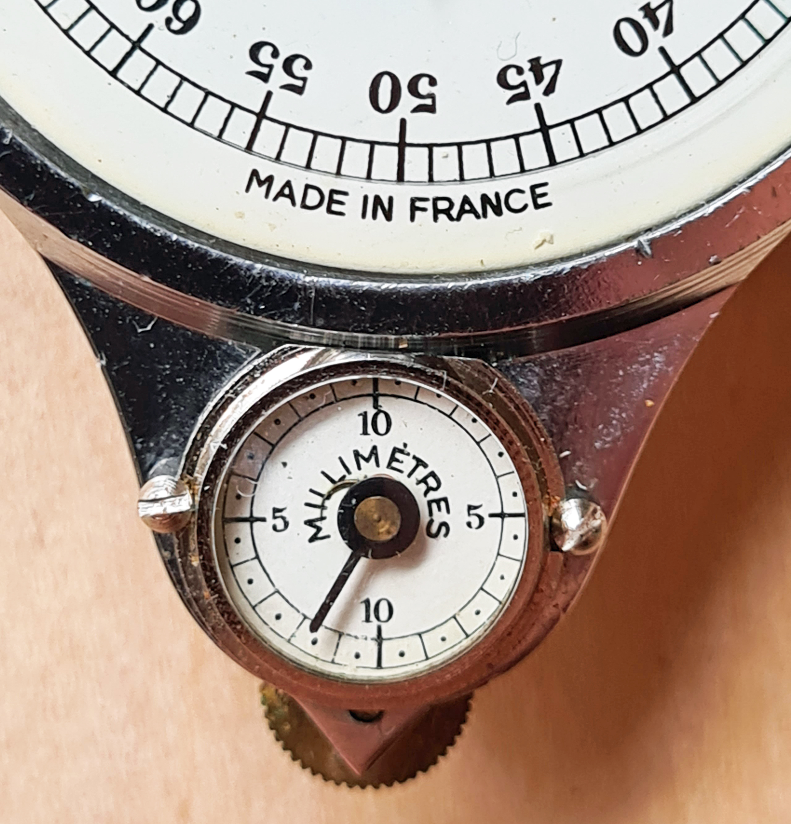 Small dial on model 54M