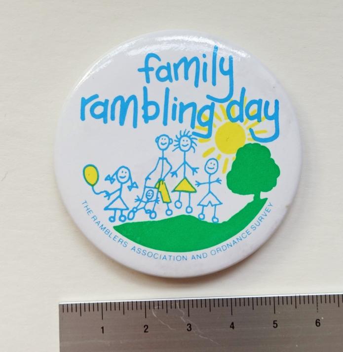 Family Rambling Day badge