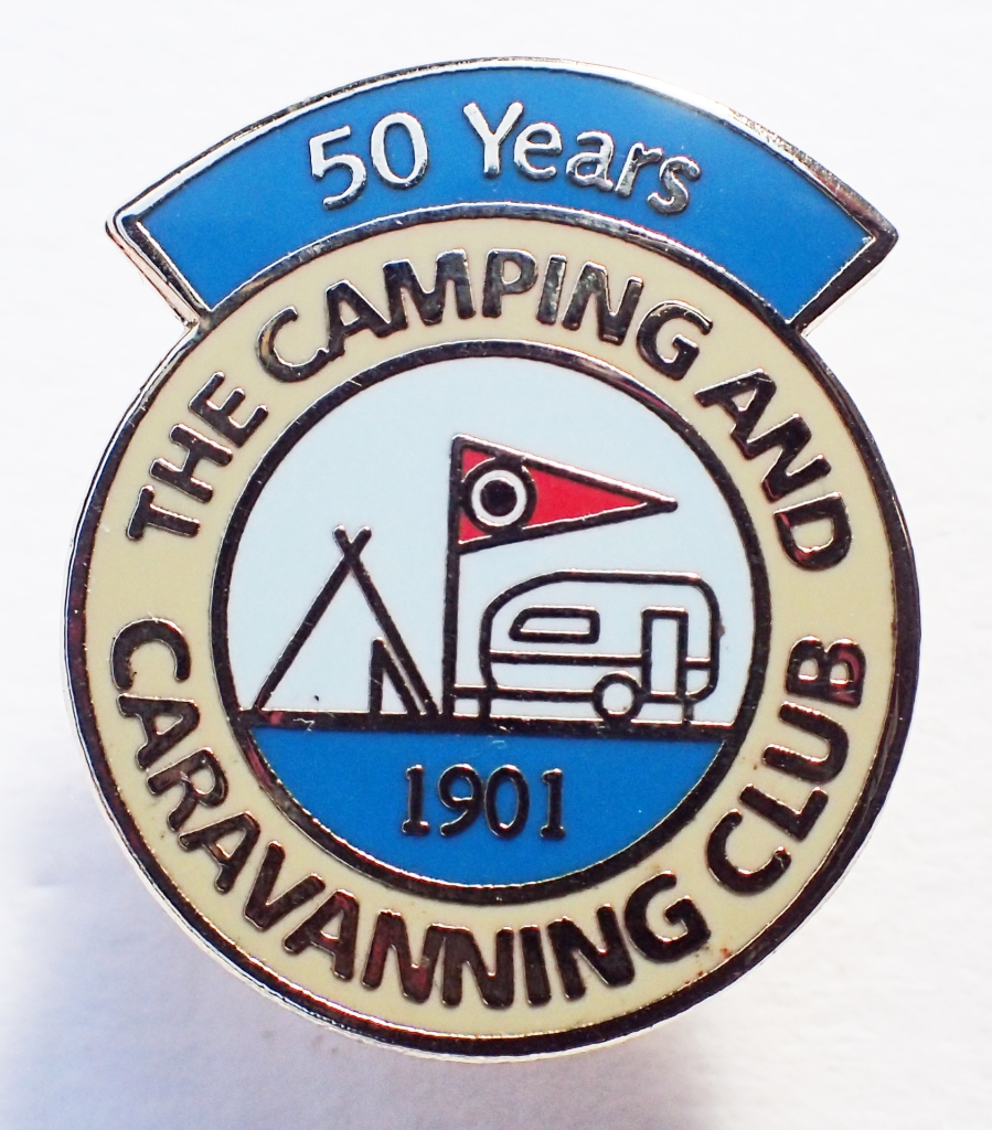 The Camping and Caravanning Club- 50 years