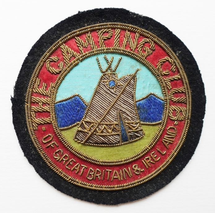 Cloth Camping Club badge